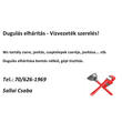 Sallai Csaba - vízvezeték-szerelés, dugulás-elhárítás