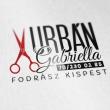 Urbán Gabriella - fodrász Kispesten logó telefonszám: 06 70 230 02 85