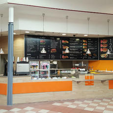 Happy HotDog & Burger - Auchan Soroksár