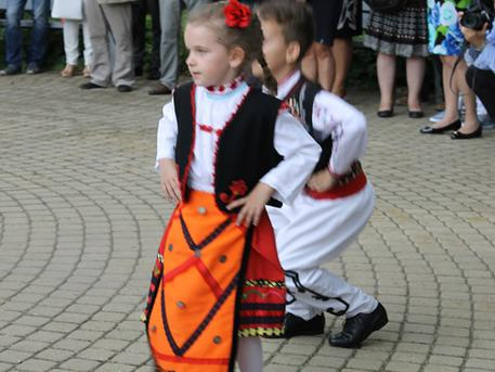 Roszica gyermek néptáncegyüttes (fotó: ittlakunk.hu)
