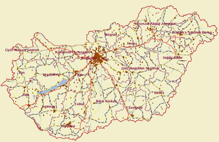 soroksár térkép XXIII. kerület   Soroksár   A bűnügyi térkép szerint Soroksár nem  soroksár térkép