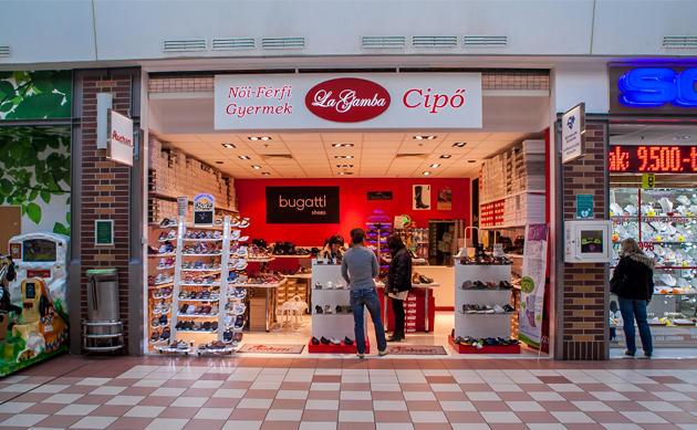 La Gamba Cipőbolt - Auchan Soroksár 1162854c90