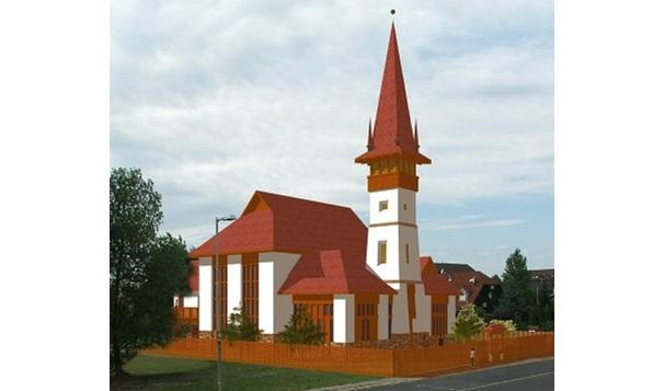 A templom látványterve