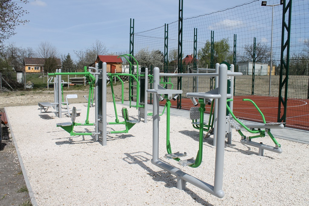 A molnár-szigeti fitneszparkhoz hasonló épül majd Újtelepen is (fotó: ittlakunk.hu)