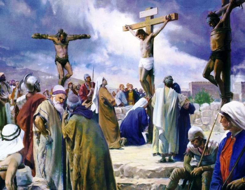 Krisztus kereszthalálára és feltámadására emlékezünk